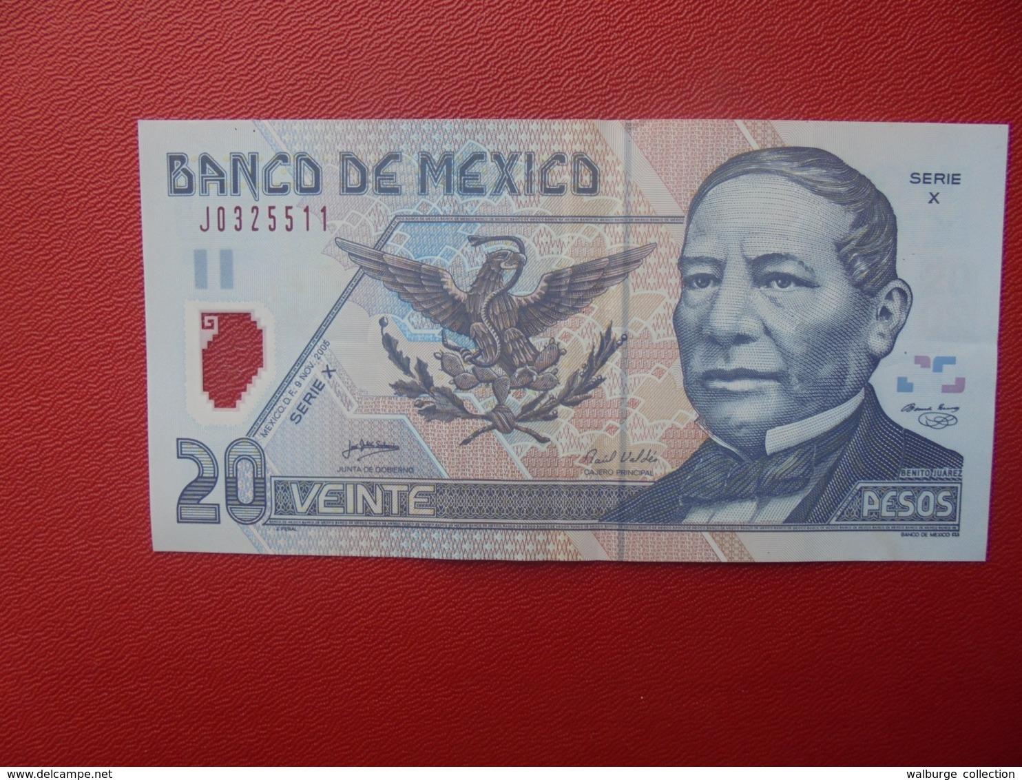 MEXIQUE 20 PESOS 2005 CIRCULER (B.8) - México