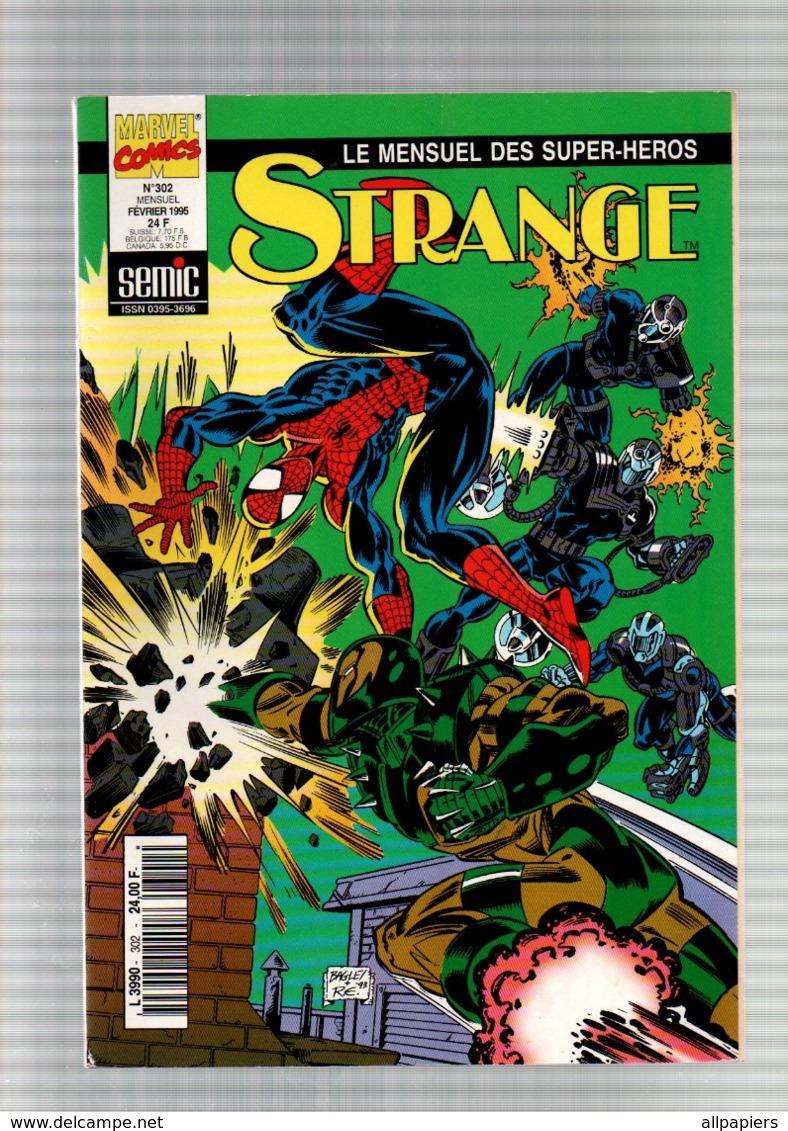 Strange N°302 L'araignée - Iron Man - Namor Terrain De Chasse Et Aquaria De 1995 - Strange