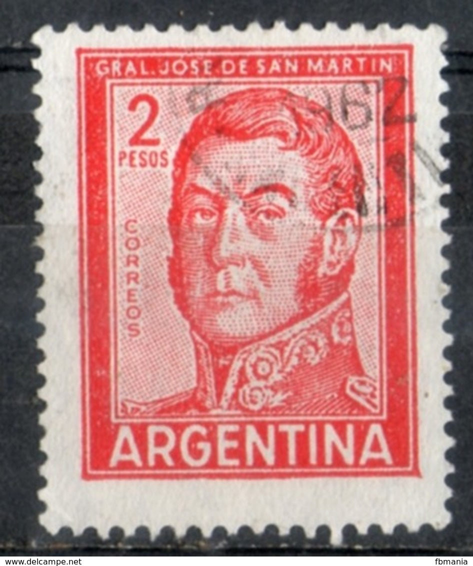 Argentina 1961 - Josè De San Martin Generale E Politico General And Politician - Argentinien