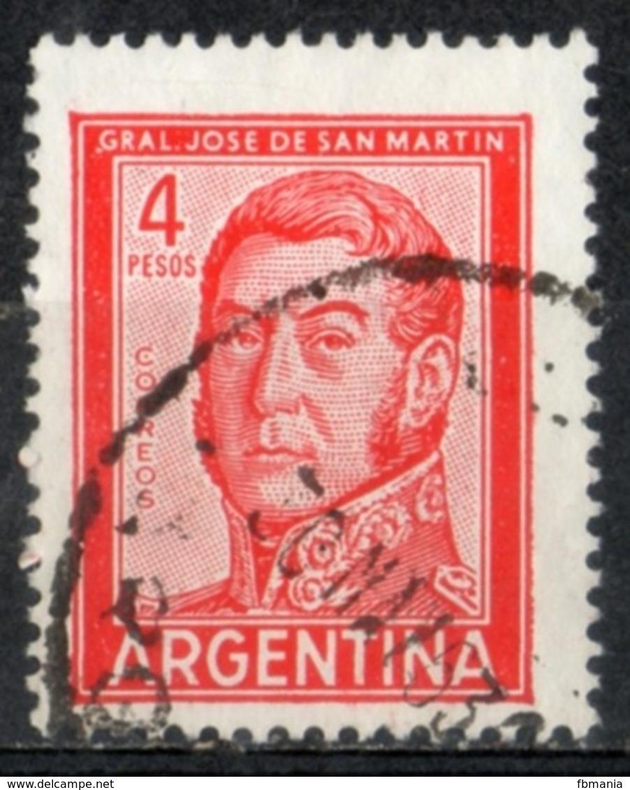 Argentina 1962 - Josè De San Martin Generale E Politico General And Politician - Oblitérés