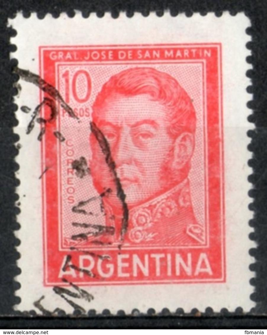 Argentina 1966 - Josè De San Martin Generale E Politico General And Politician - Argentina
