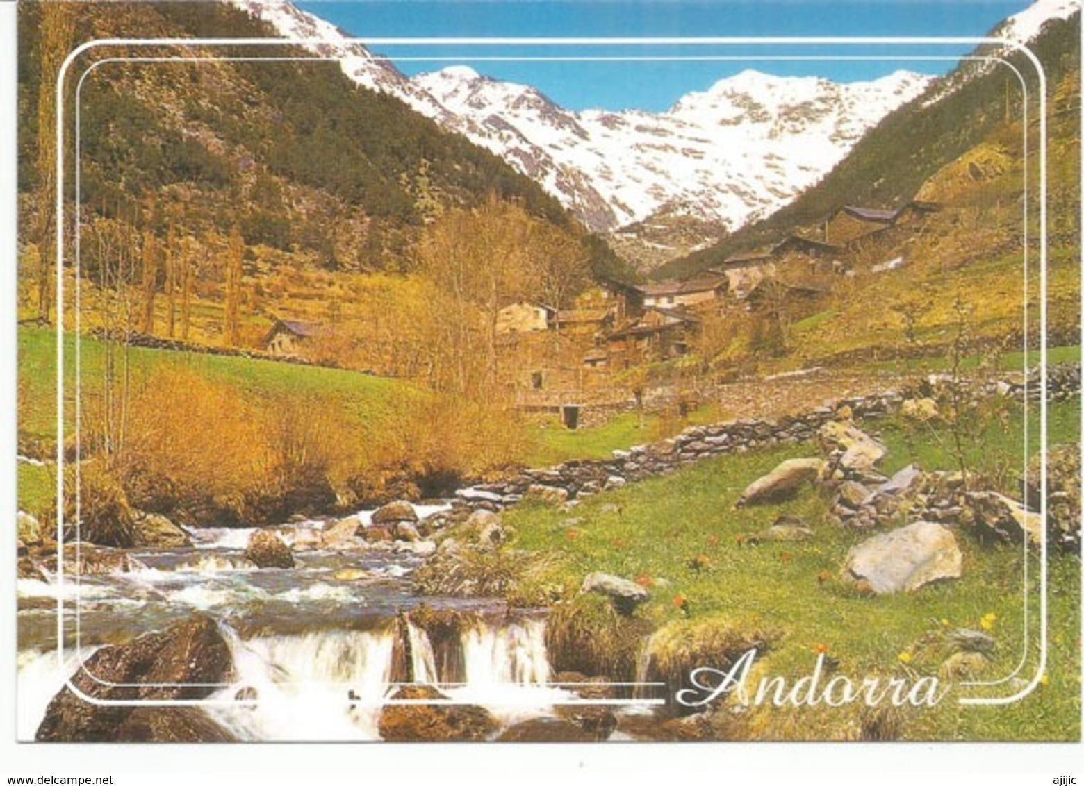 Andorra.  Source Du Riu D'Arinsal , Nouvelle Carte Postale Neuve, Non Circulée. - Andorre