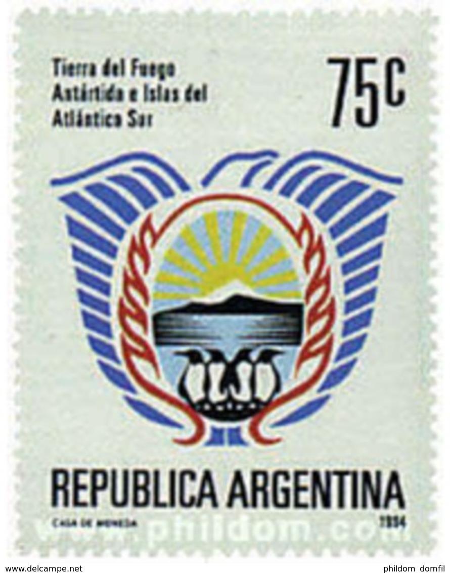 Ref. 35223 * MNH * - ARGENTINA. 1994. TIERRA DEL FUEGGO AND ISLANDS IN THE SOUTH ATLANTIC . TIERRA DE FUEGO E ISLAS DEL - Argentine