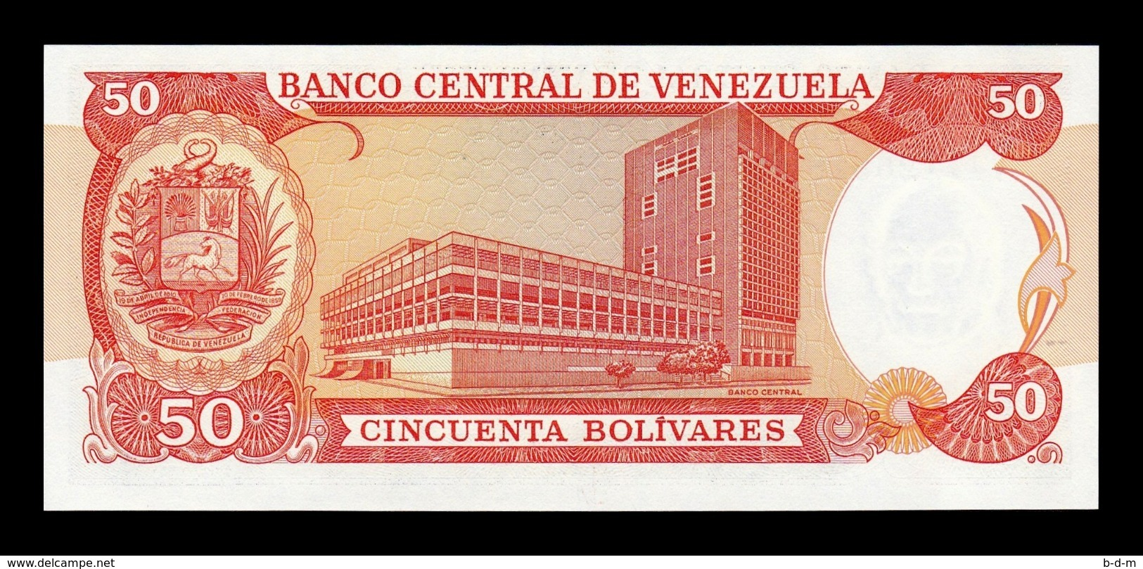 Venezuela 50 Bolivares 1998 Pick 65f SC UNC - Venezuela