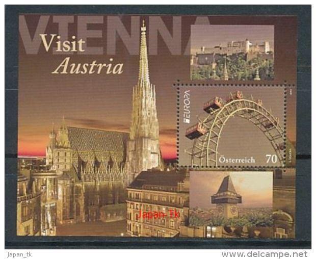 ÖSTERREICH Mi.NR Block 69 Europa - Besuche -2012 - MNH - Europa-CEPT