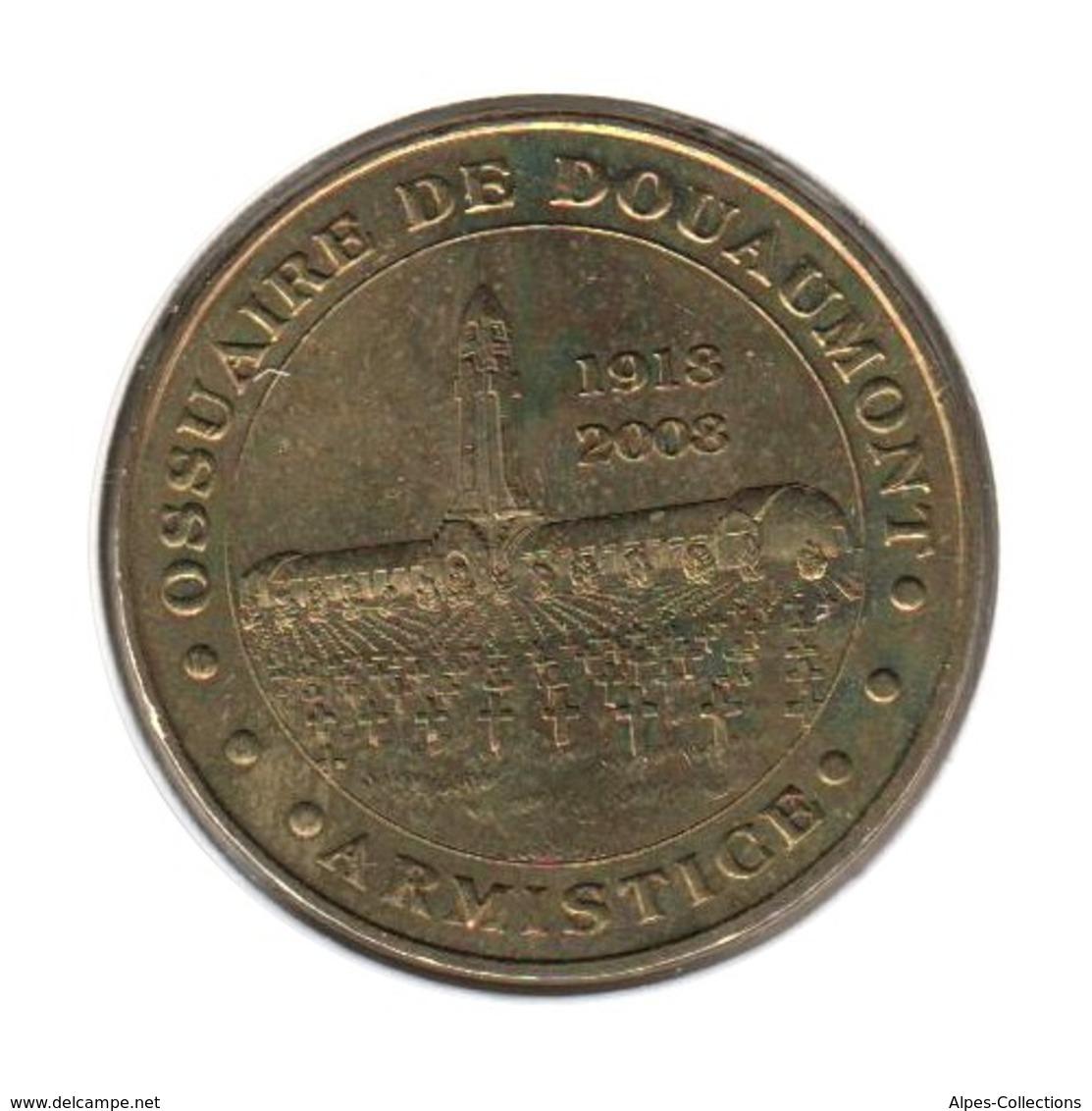 55001 - MEDAILLE TOURISTIQUE MONNAIE DE PARIS 55 - Ossuaire De Douaumont - 2007 - 2007
