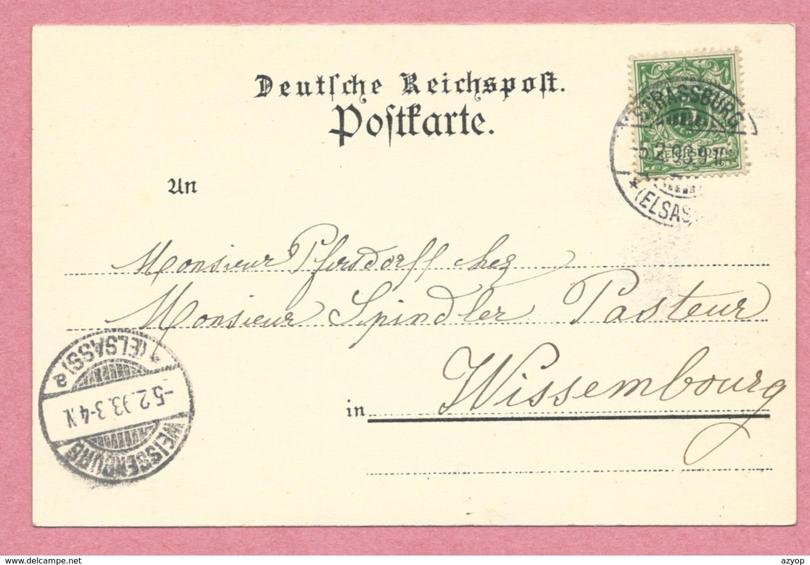 67 - GRUSS Aus SCHILTIGHEIM - Paulus Bad - Totalansicht Von Helenenkirchhof Aus - Schiltigheim