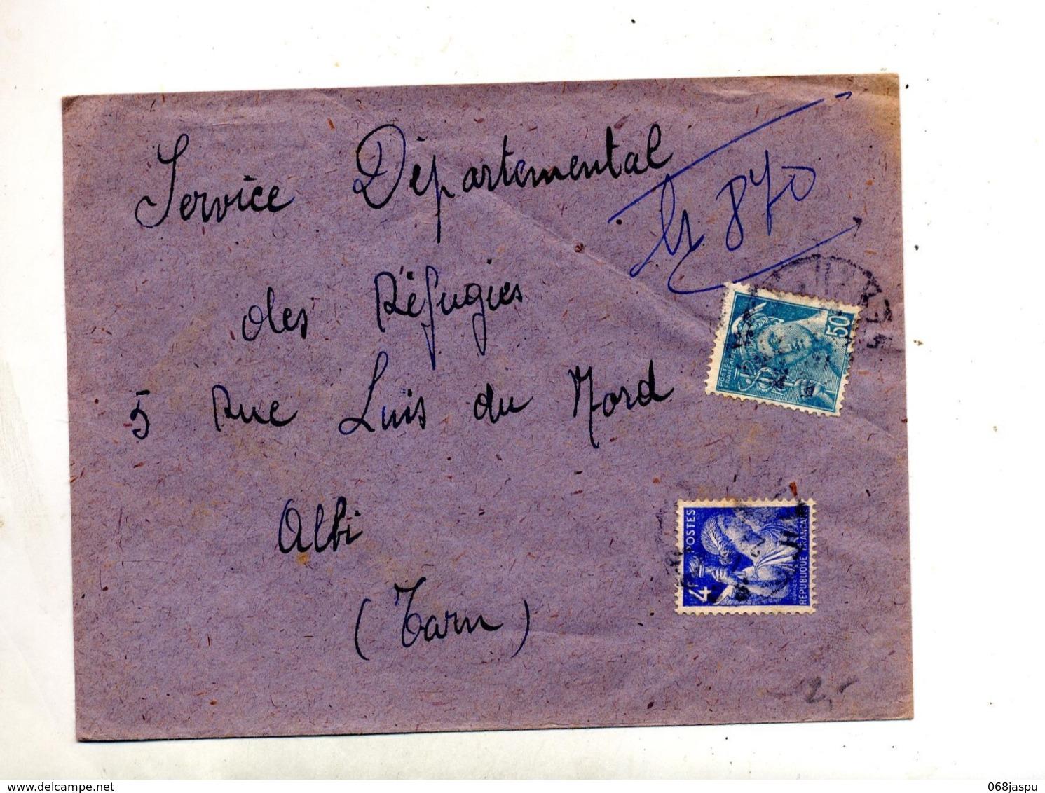 Lettre Recommandée ? Sur Mercure Iris - Storia Postale