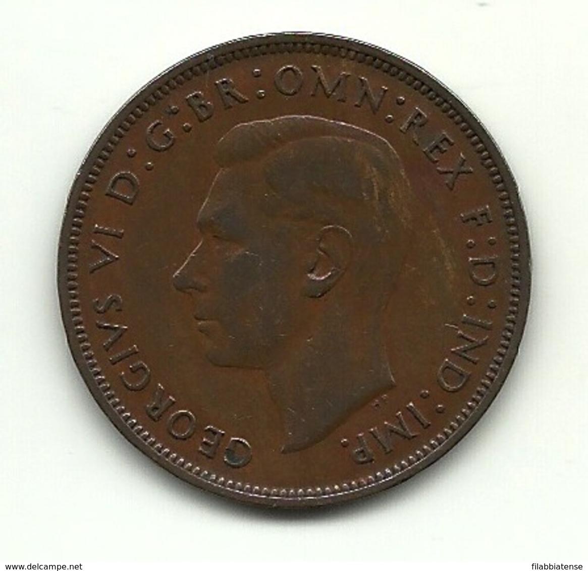 1947 - Gran Bretagna 1 Penny - Altri