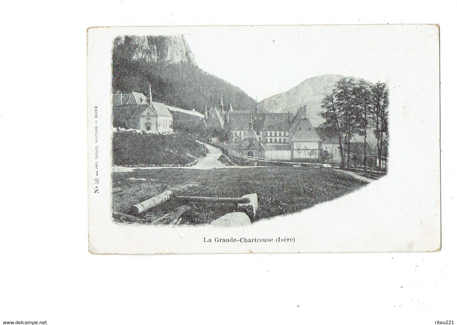 Cpa - 38 - La Grande Chartreuse - N°50 Imp Ducloz Moutiers - Saint-Pierre-d'Entremont