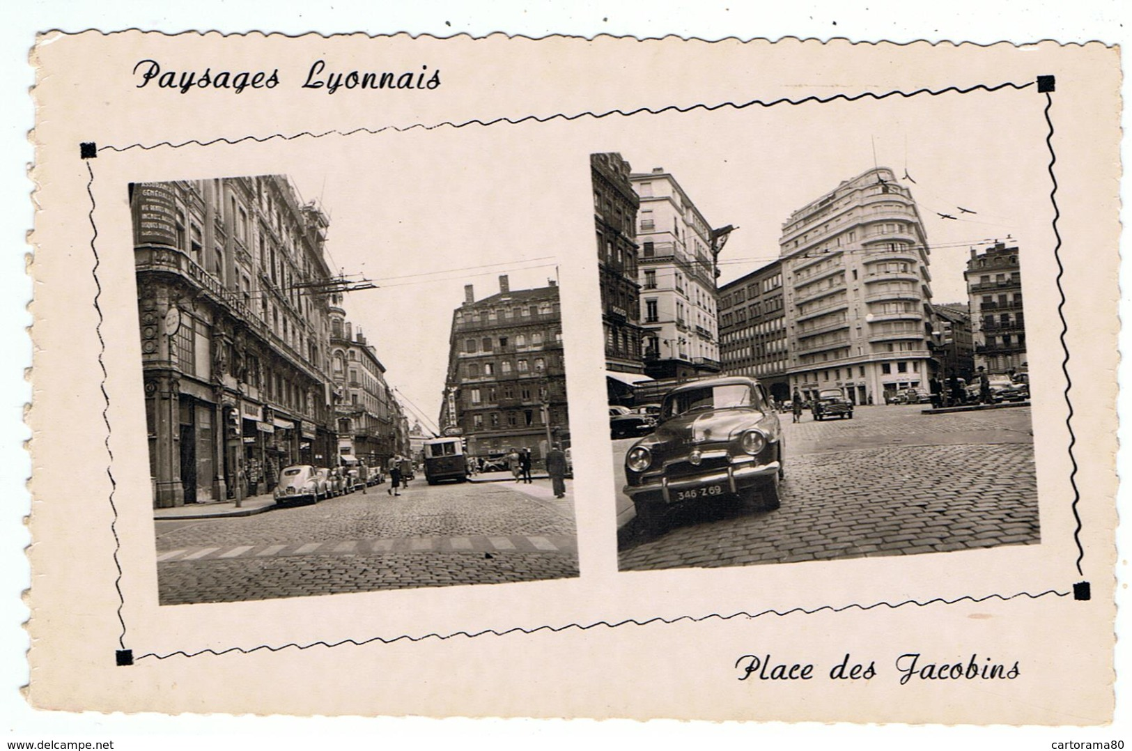 Aronde / Lyon / Place Des Jacobins / Ed. Cellard - Turismo