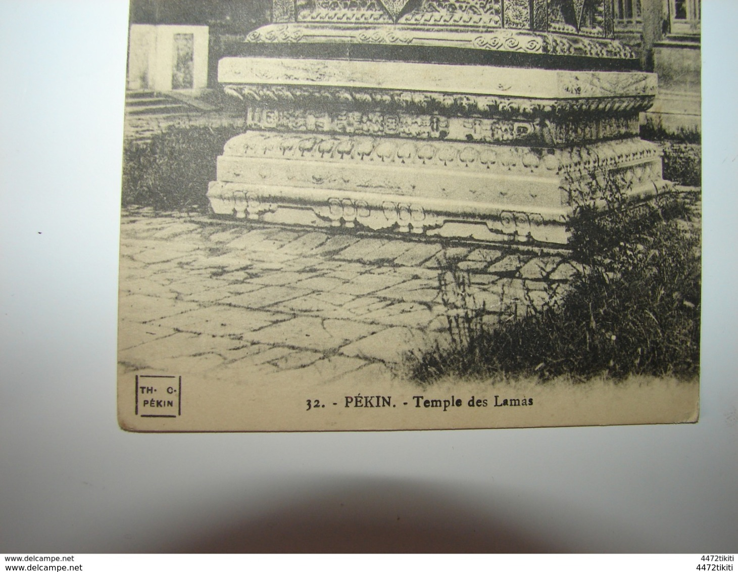 C.P.A. - Asie - Chine - Pékin - Temple Des Lamas - 1912 - SUP (P10) - Chine