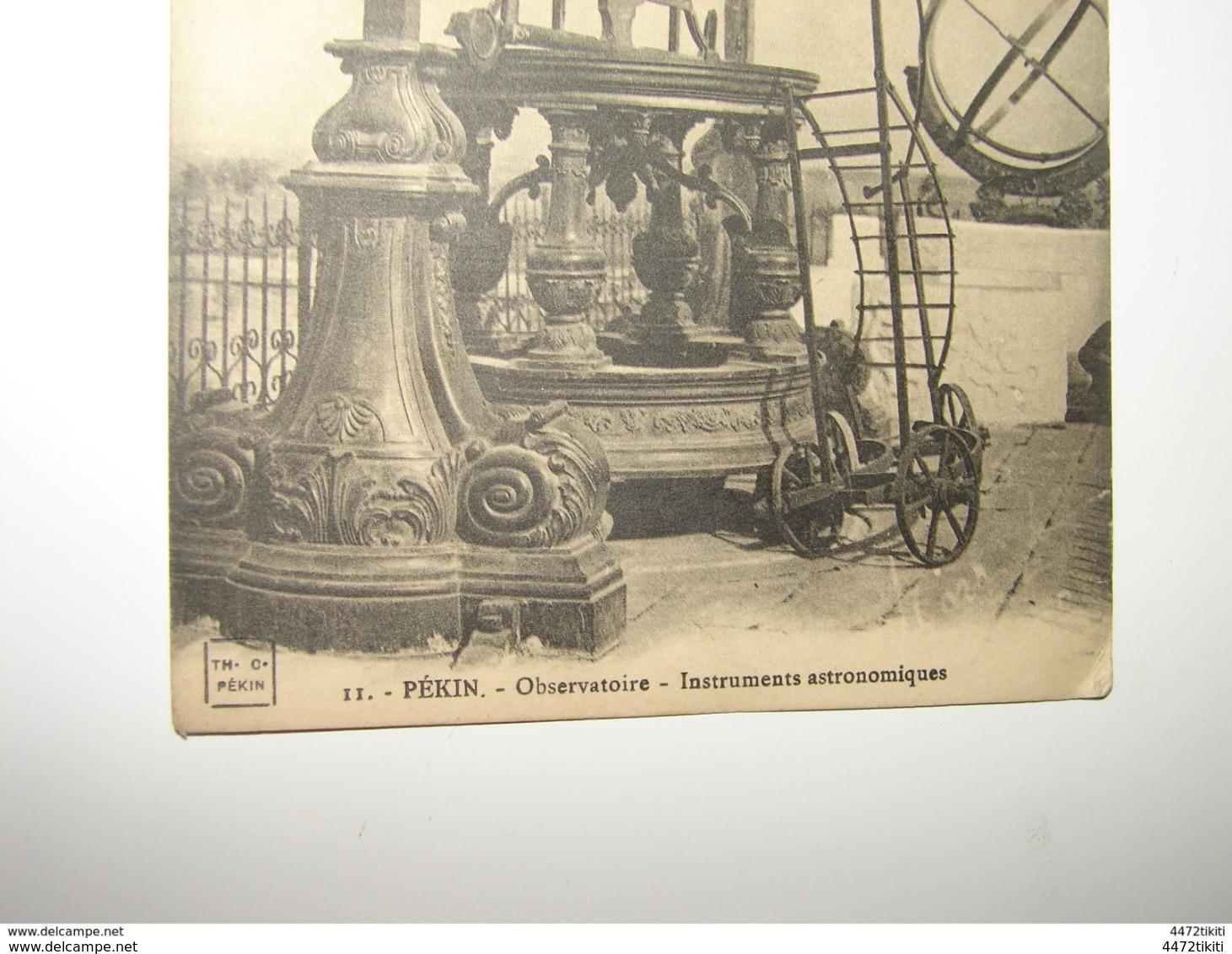 C.P.A. - Asie - Chine - Pékin - Observatoire - Instruments Astronomiques - 1912 - SUP (P13) - Chine