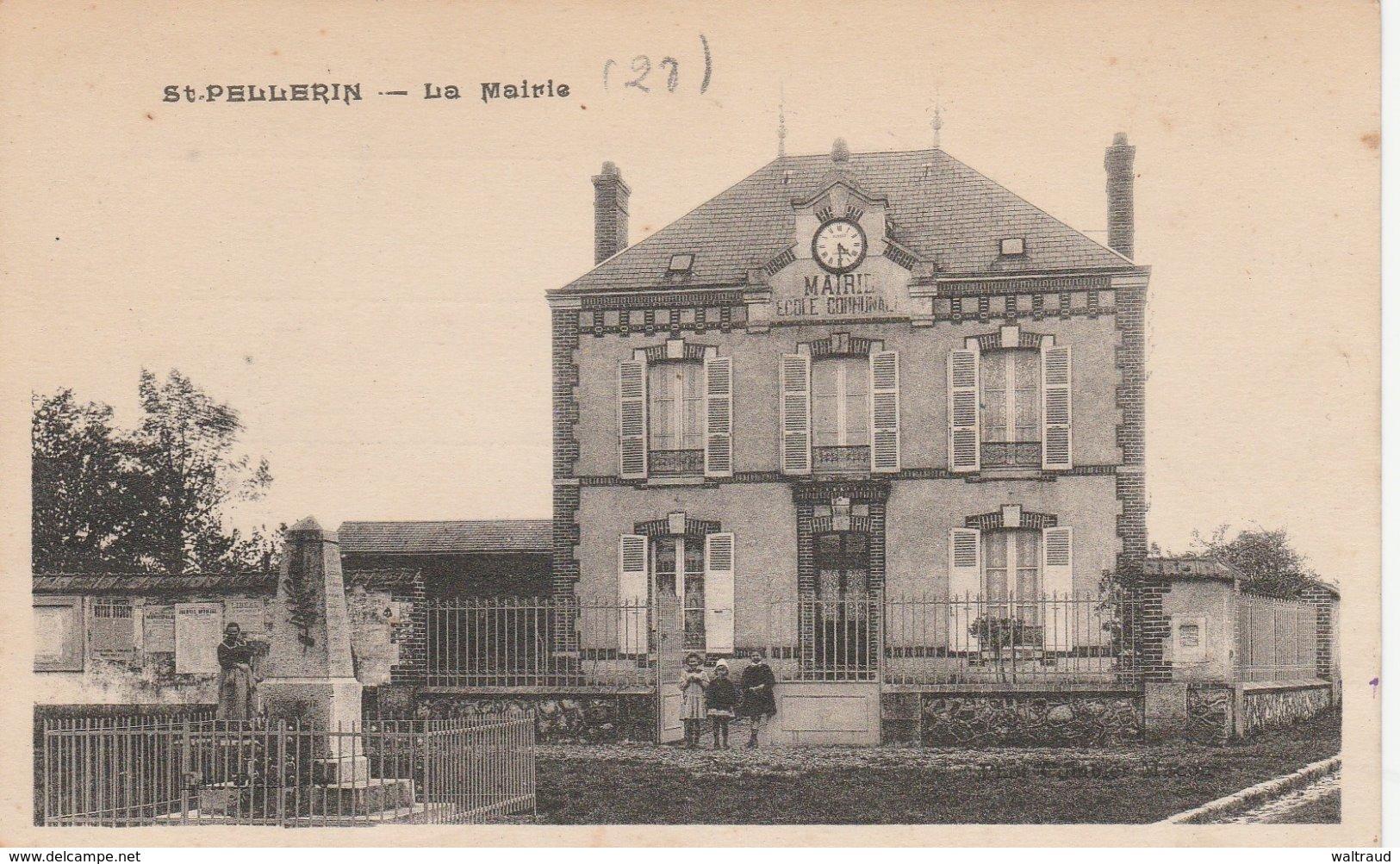 28--ST PELLERIN--LA MAIRIE--VOIR SCANNER - Francia