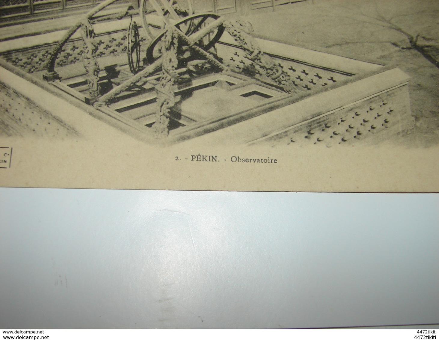C.P.A. - Asie - Chine - Pékin - Observatoire - 1912 - SUP (P16) - Chine