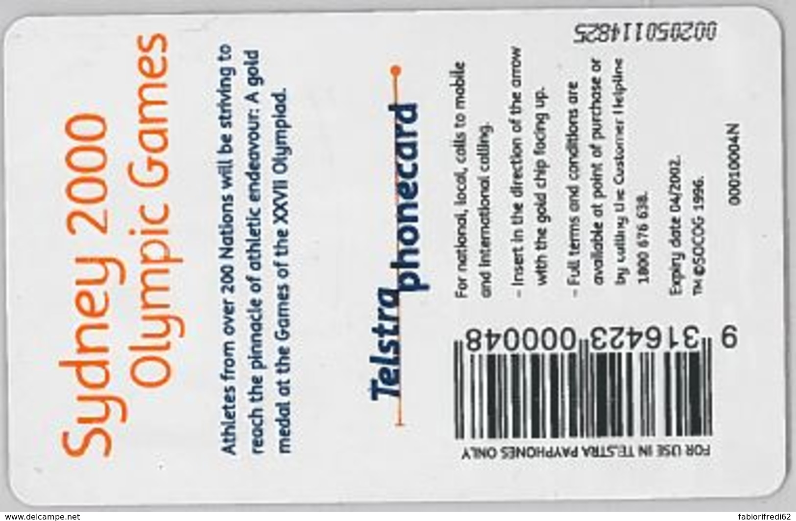 PHONE CARD-AUSTRALIA (E47.36.8 - Australia