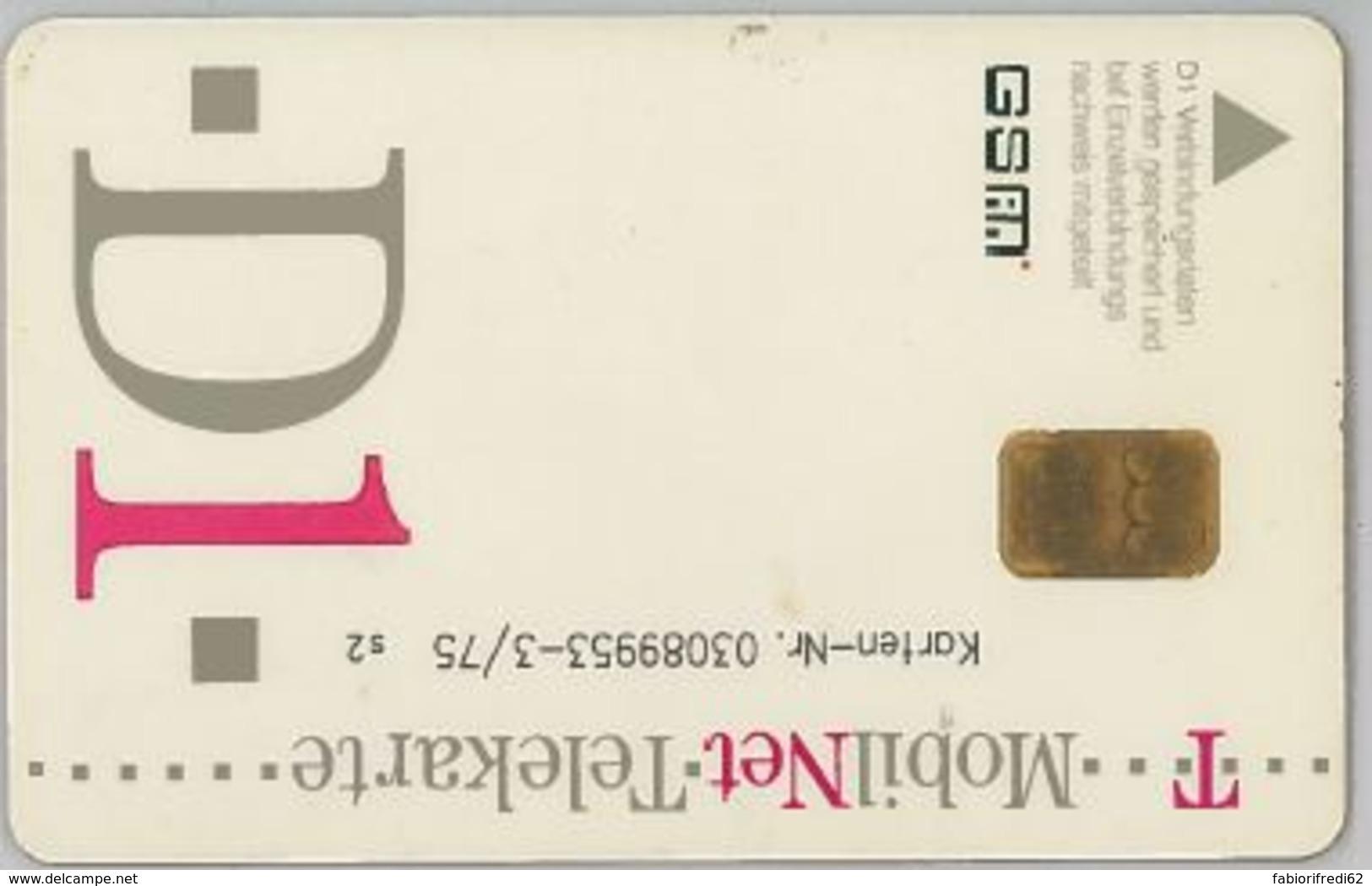 SIM CARD NON ACTIVEGERMANIA (E47.23.1 - Germania