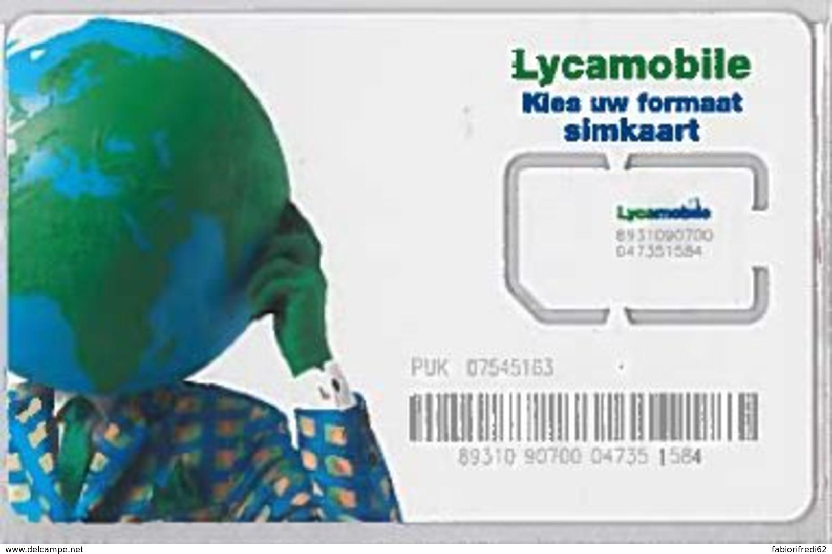 SIM CARD NON ACTIVEOLANDA (E47.19.5 - Paesi Bassi