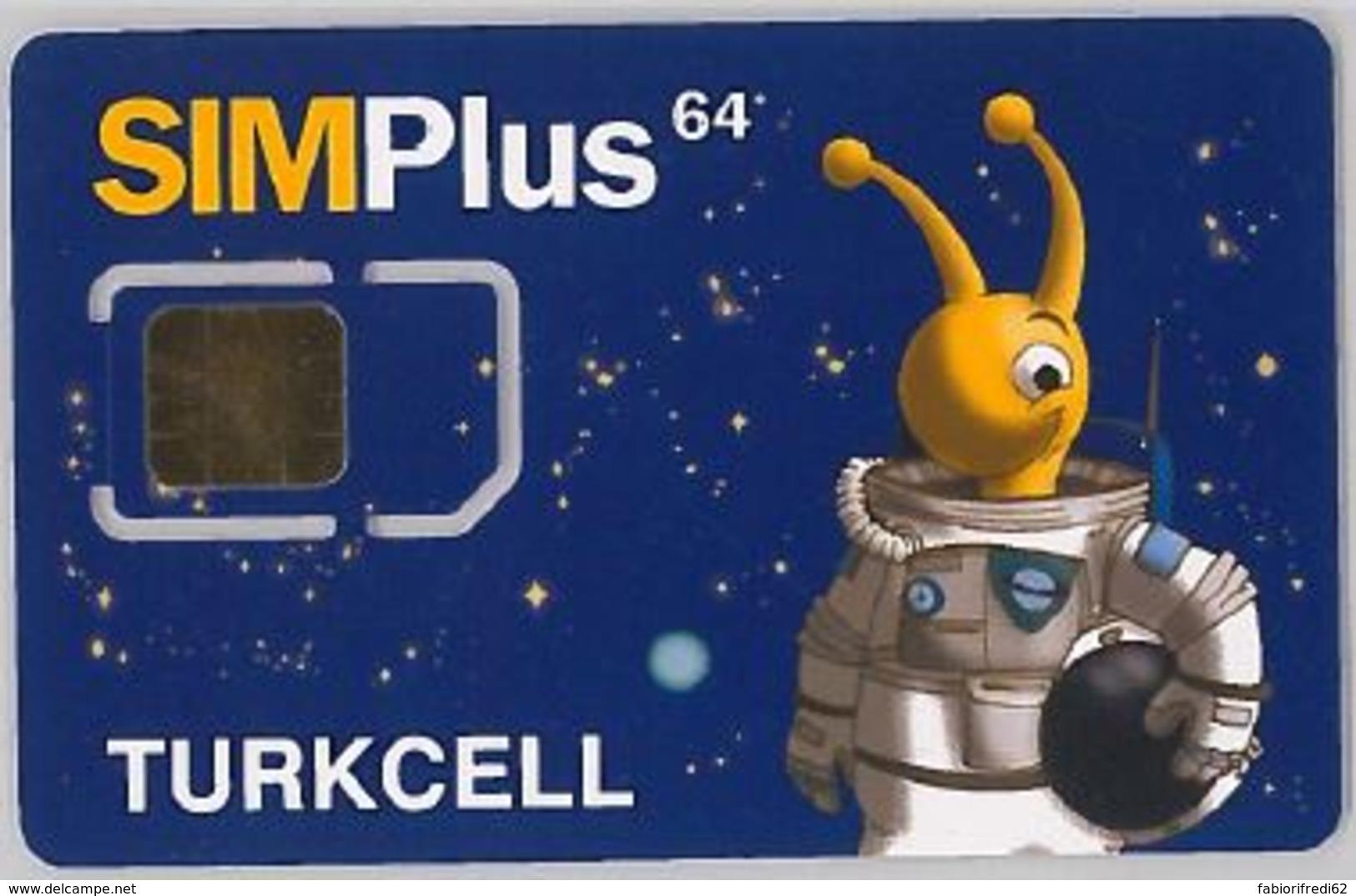 SIM CARD NON ACTIVETURCHIA (E47.21.7 - Turchia