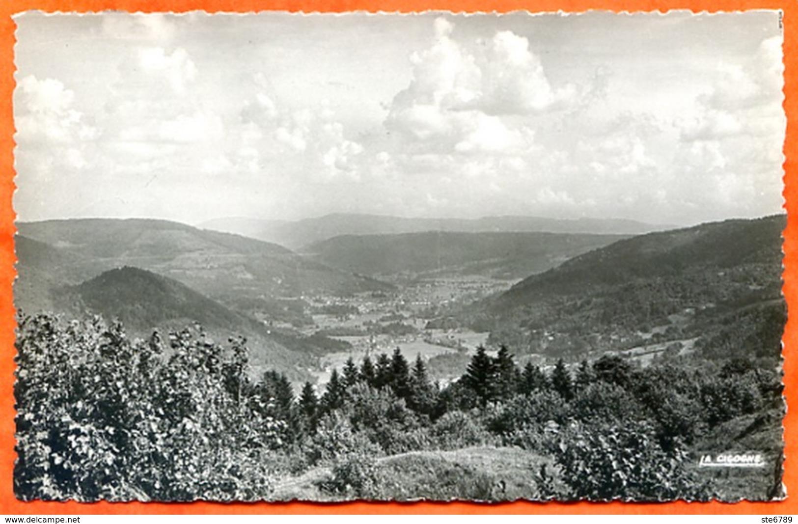 88 REMIREMONT Point De Vue De La BEUILLE Sur La Vallée De La Moselle Carte Vierge TBE - Remiremont