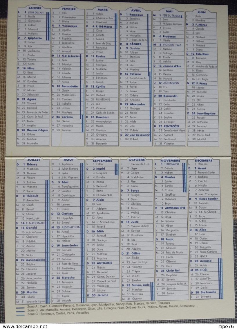 Petit Calendrier De Poche Publicitaire 2007  Illustration Fillette Pharmacie Metz - Recette Gelée De Fleurs De Lilas - Small : 2001-...