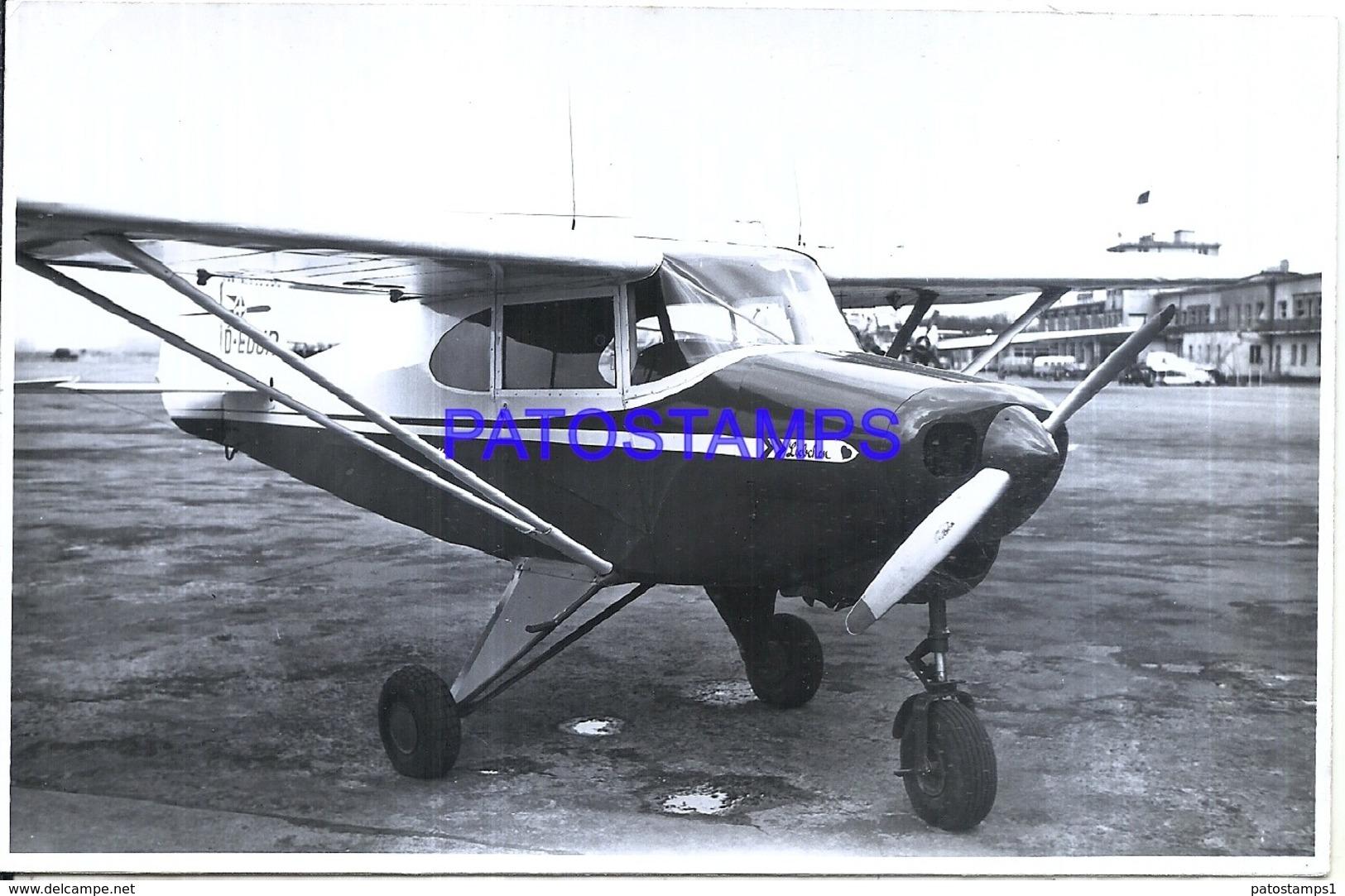 119995 AVIATION AVIACION LIEBCHEN 17.5 X 11 CM PHOTO NO POSTAL POSTCARD - Aviation