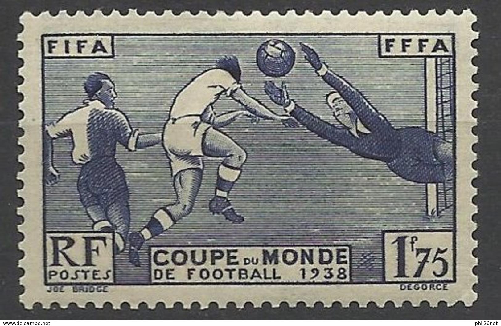 France N° 396  Coupe Du Monde De Foorball    Neuf   * *  TB  = MNN H VF Soldé  à Moins De 15  %  ! ! ! - Francia