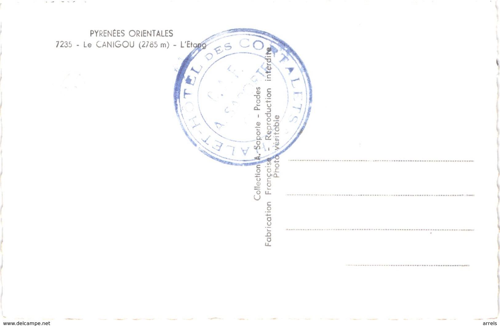 FR66 LE CANIGOU - Saporte 7235 - L'étang - Belle - Autres Communes
