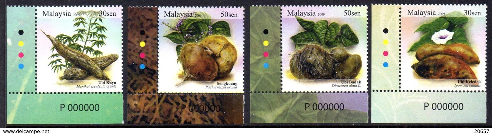 Malaisie Malaysia 1356/59 Légumes, Tubercules - Vegetables