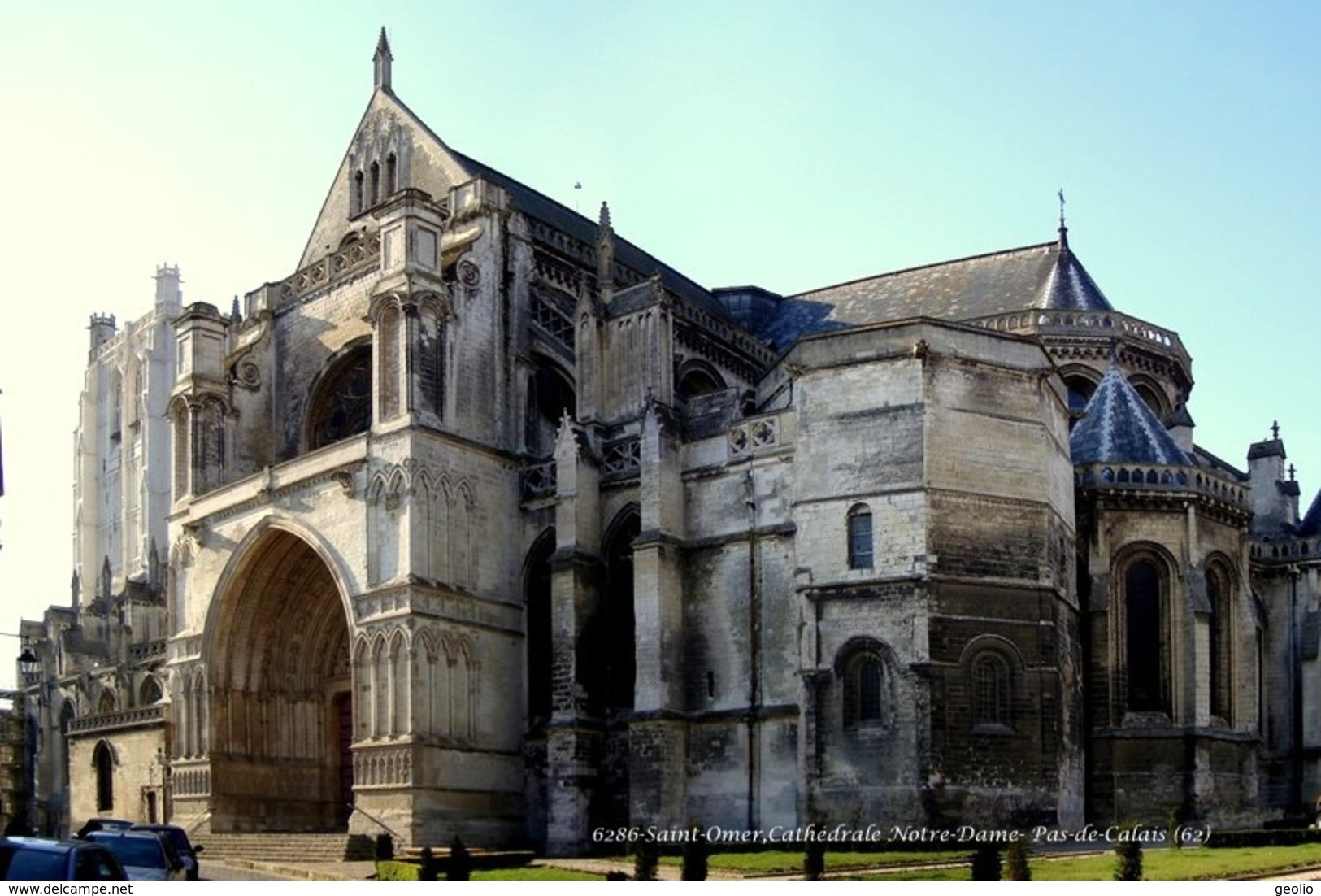 Saint-Omer (62)- Cathédrale Notre-Dame (Edition à Tirage Limité) - Saint Omer
