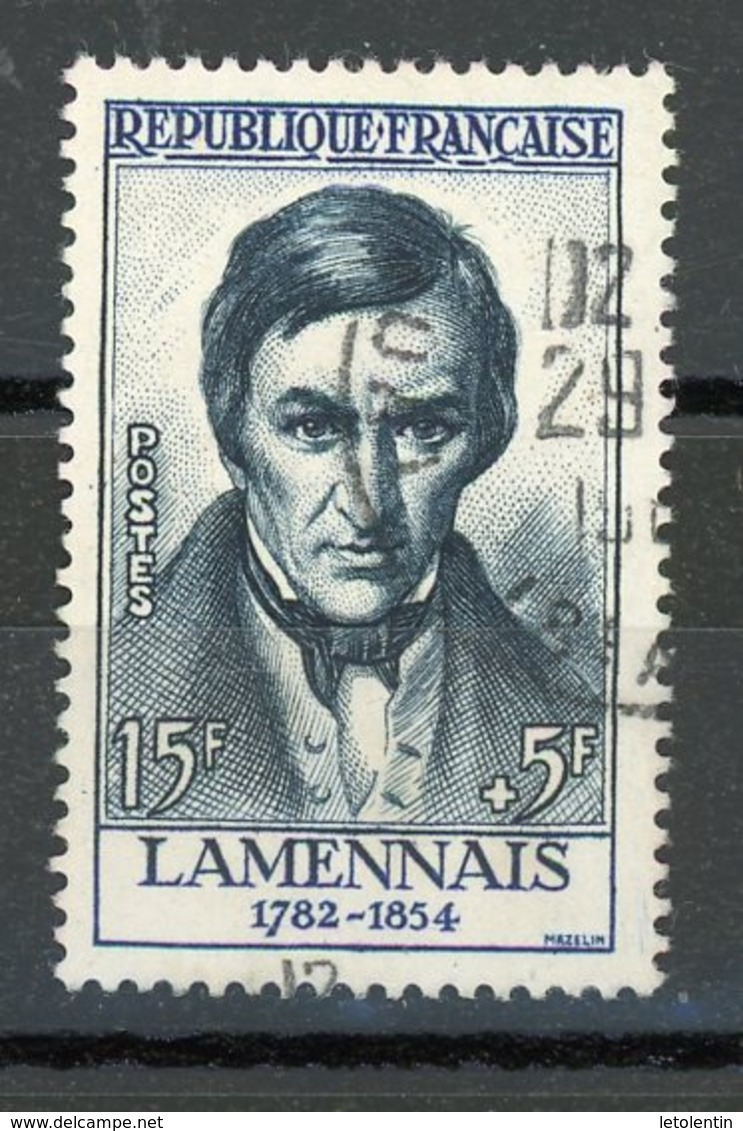 FRANCE - LAMENNAIS - N° Yvert 1111 Obli. Ronde De ? - France