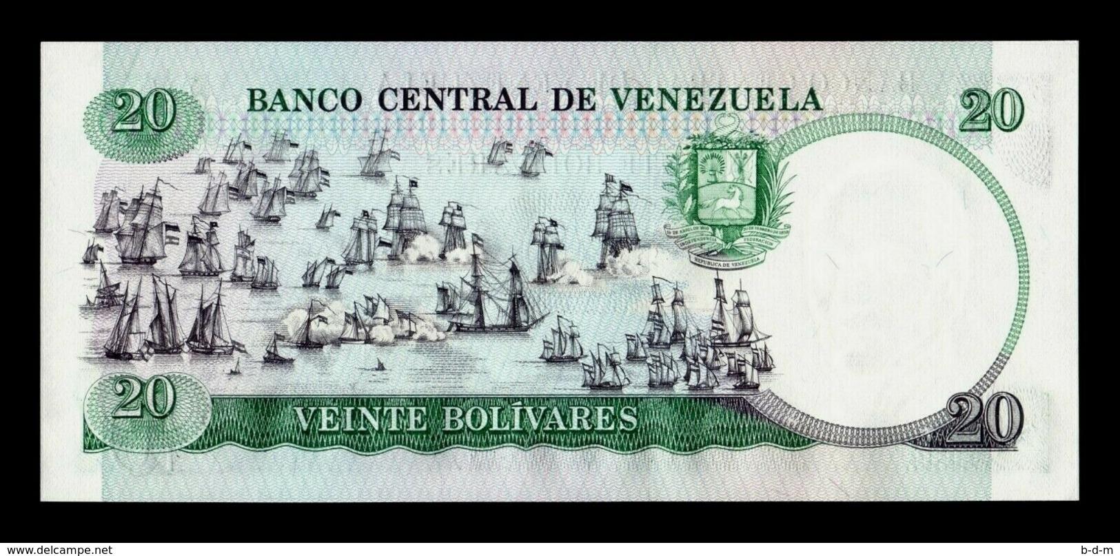 Venezuela 20 Bolivares Comm. 1987 (1989) Pick 71 Low Serial SC UNC - Venezuela