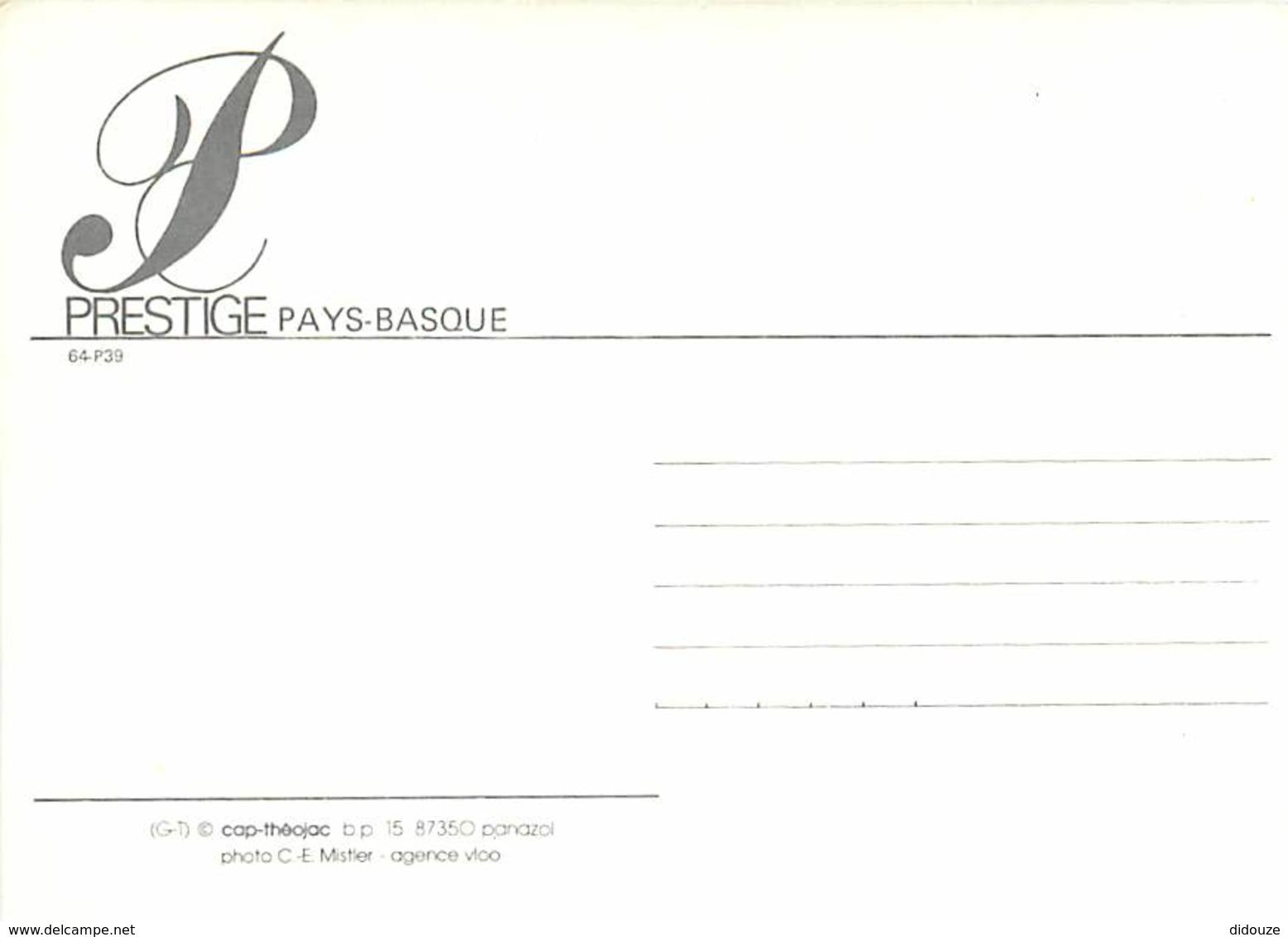 64 - Pyrénées Atlantiques - Pays Basque - Carte Prestige Pays Basque - Maison Basque - Carte Neuve - Voir Scans Recto-Ve - France