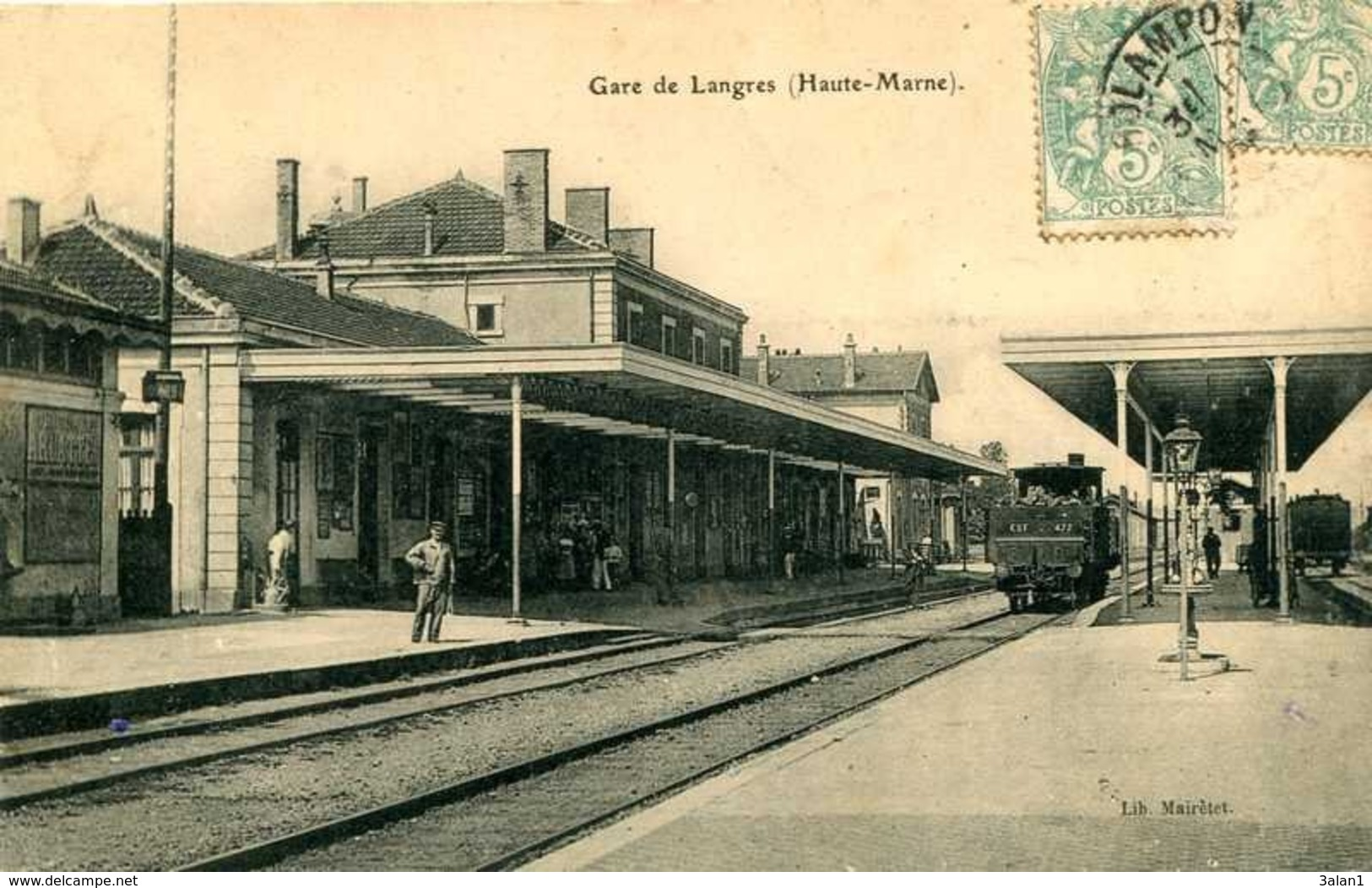 LANGRES   Gare De Langres (1)      890 - Langres
