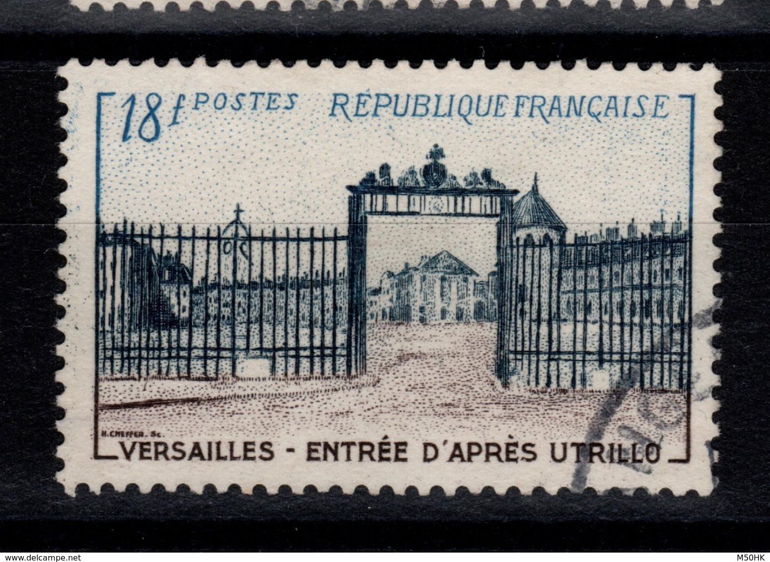 YV 988 Oblitere Versailles Cote 7,50 Euros - France