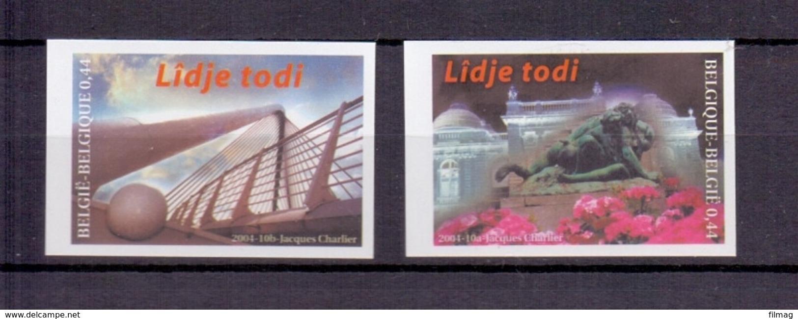 3275/76 LIDJE TODI ONGETAND POSTFRIS** 2004 - Belgique