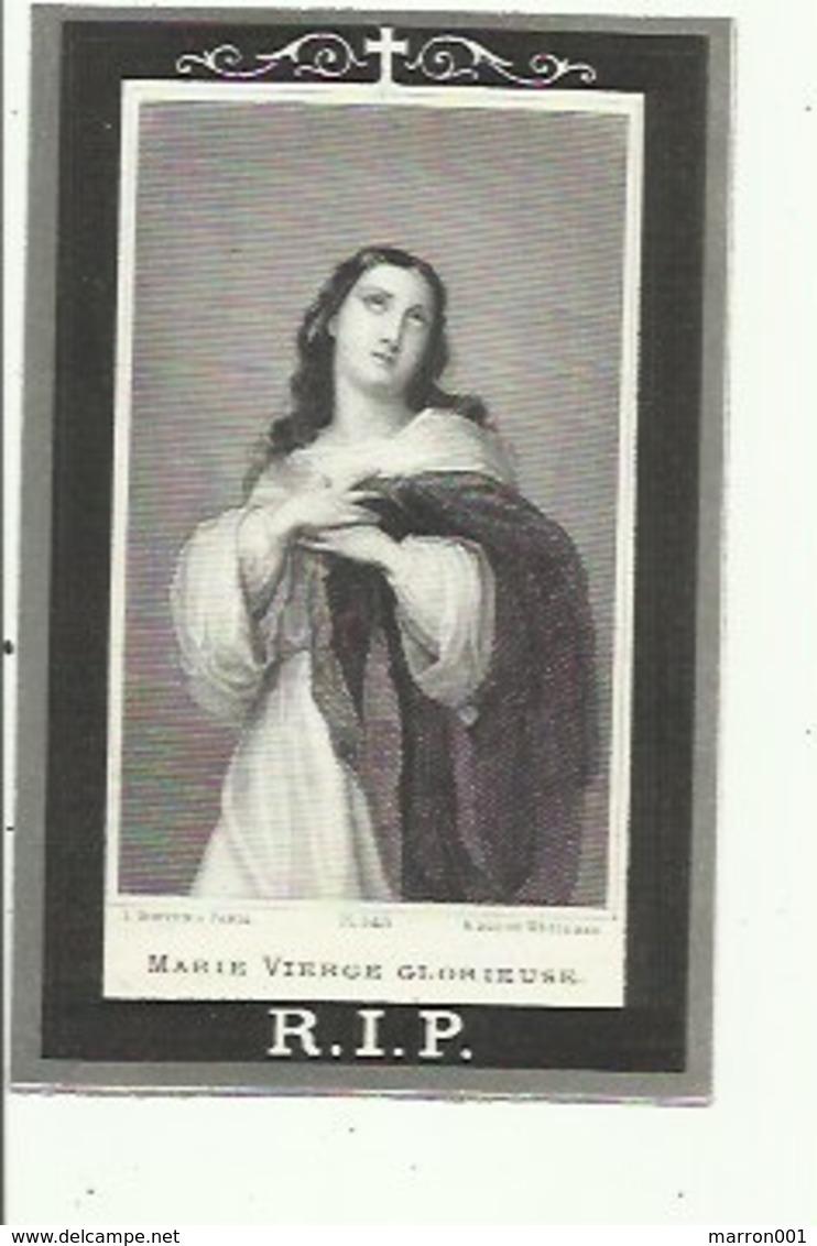 Marie Van Espen -gestorven Te Perck (Joseph Goossens , Bourgmestre De Perck) - Imágenes Religiosas