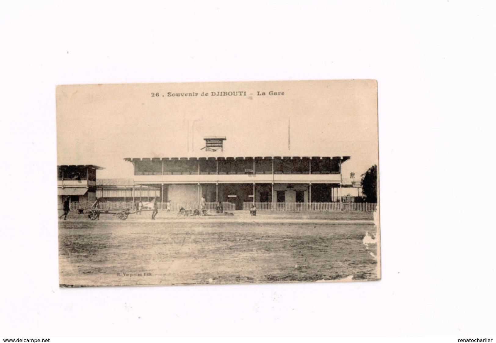 Souvenir De Djibouti.La Gare. - Djibouti