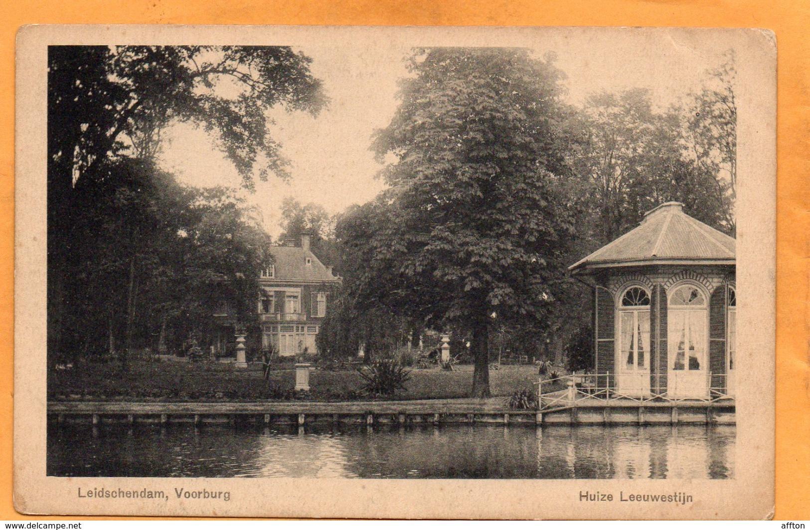 Leidschendam Netherlands 1908 Postcard - Leidschendam