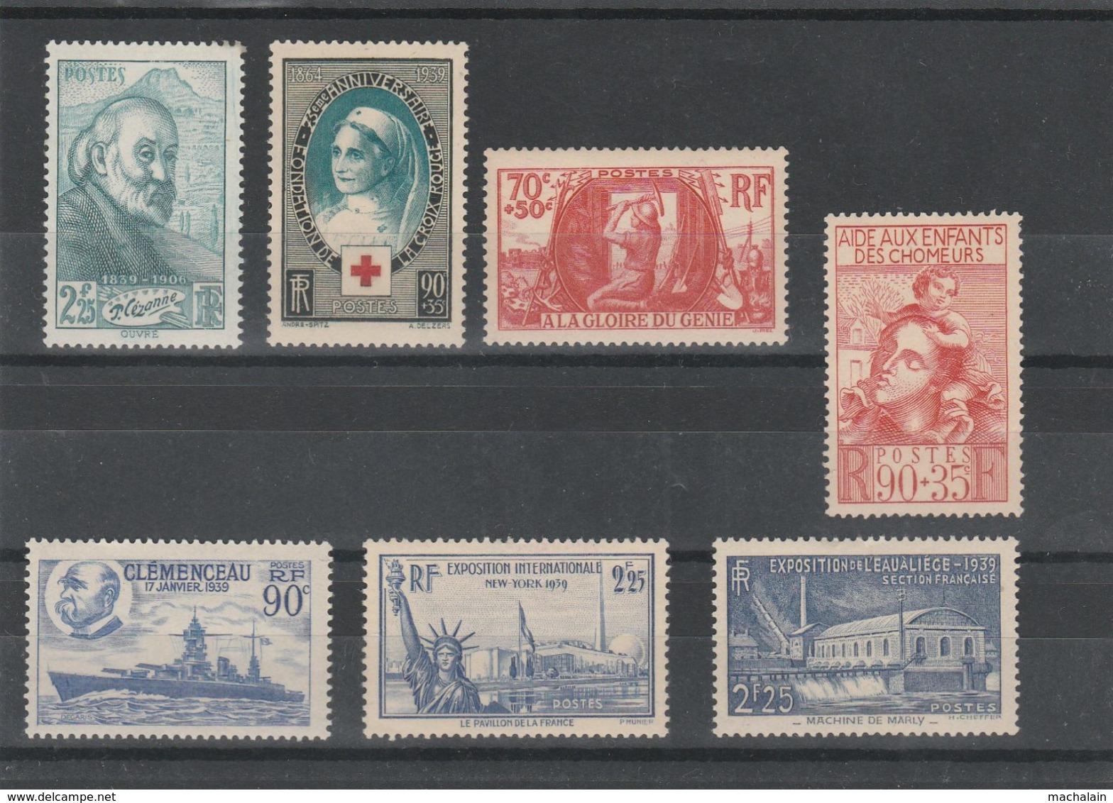 Collection Timbres De France Neufs** Cote = 660 € - Frankreich