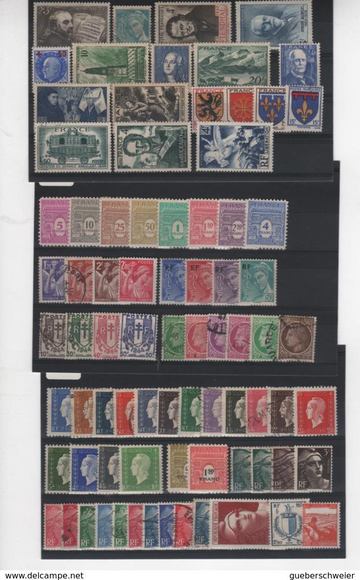 Carton Avec + De 3 Kgs De Timbres, Lettres, Entiers Postaux, Aérogrammes, Et Beau Lot De Timbres De France Neufs**/* Obl - France
