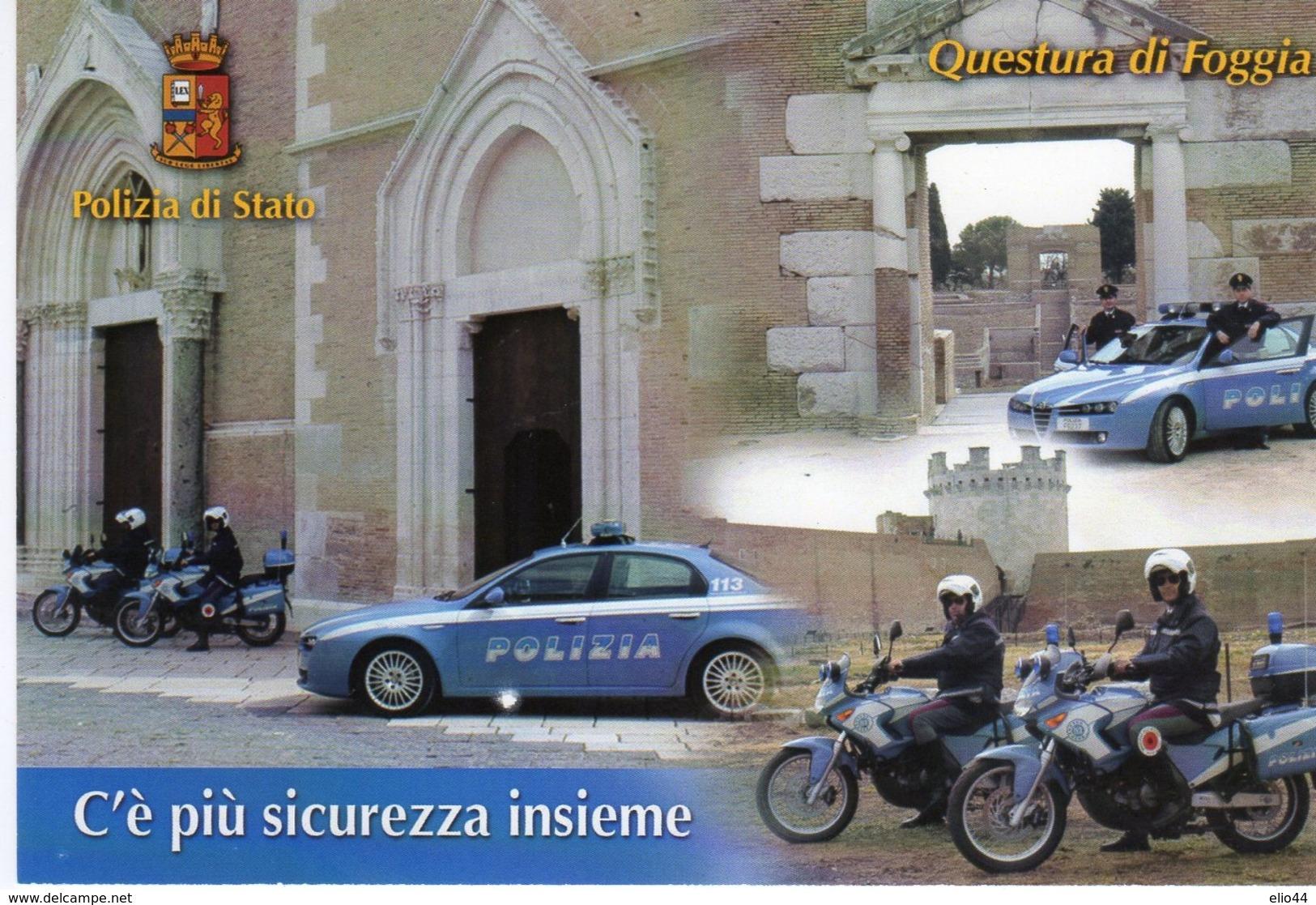 Mestieri - Polizia Di Stato - Lucera (FG) 2010 - 158° Anniv. Fondazione Polizia Di Stato - - Polizia – Gendarmeria