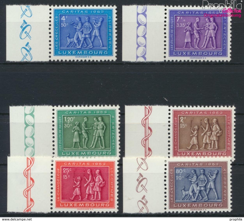 Luxemburg 517-522 (kompl.Ausg.) Postfrisch 1953 Heimatliches Brauchtum (9256383 - Luxemburg