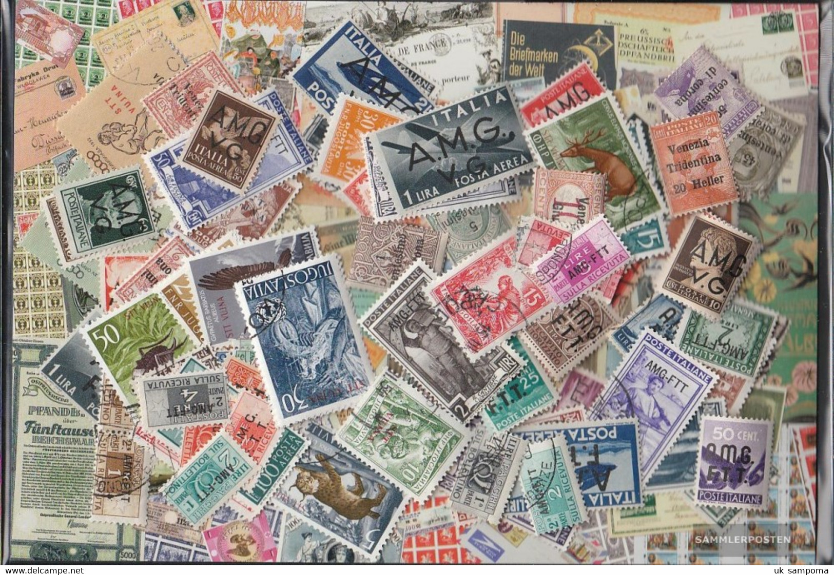 Trieste Stamps-300 Different Stamps - Other