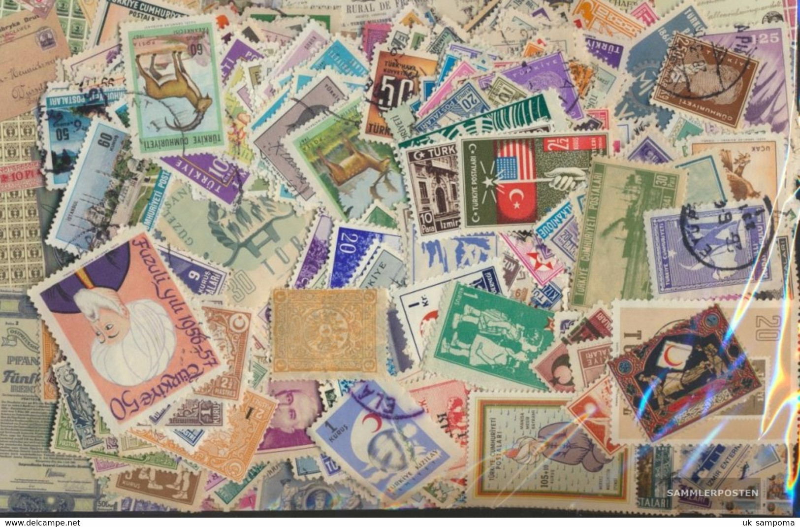 Turkey Stamps-4.000 Different Stamps - 1921-... Republic