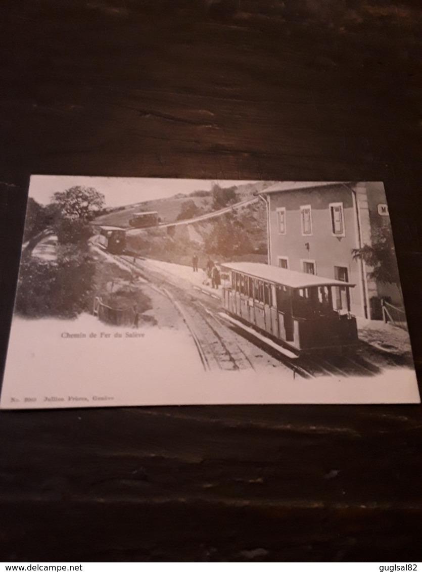 Cartolina Postale 1900, Chemin De Fer Du Salève - France