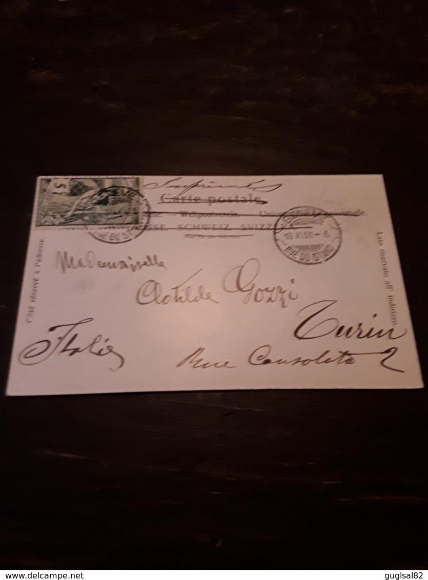 Cartolina Postale 1900, Chemin De Fer Du Salève - Frankreich