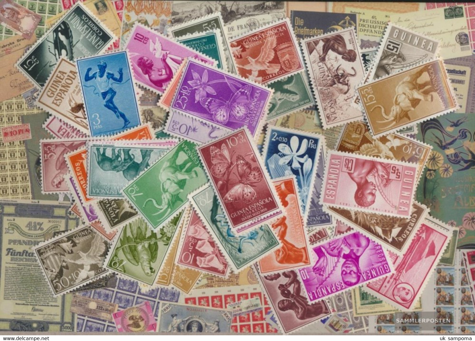 Spanisch Guinea Stamps-250 Different Stamps - Spanish Guinea
