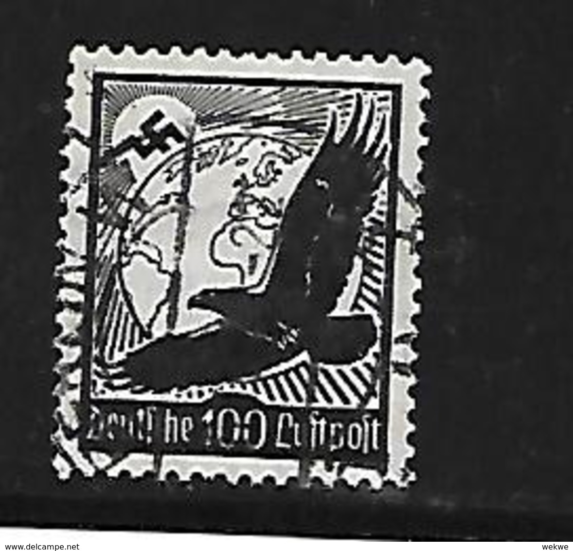 III-Mi.Nr.537x/ Flugpost 100 - Deutschland