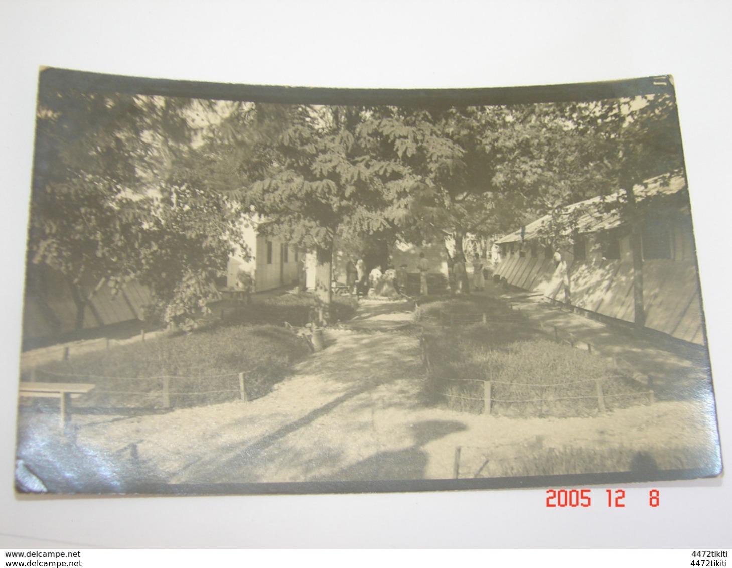 C.P.A.Carte Photo.- Salonique - Service D'Infirmières (Mlle Barbé L.) à L'Hôpital Temporaire 2 - 1916 - SUP (AD66) - Croix-Rouge